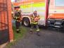 Cvičný požární poplach za účasti hasičů MZS Vítkov (6.11.2019)